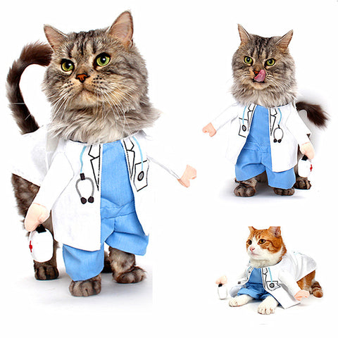 Pet Doctor Costume for Cats