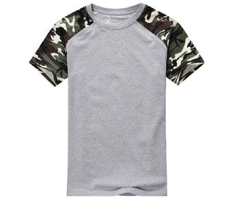 Camouflage Tactical Camo Cotton T-shirt