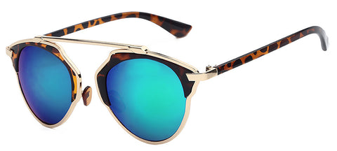 Vintage Metal Cateye Retro Sunglasses
