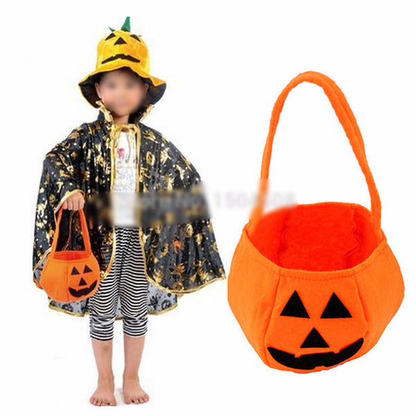 Halloween Smile Pumpkin Kids Bag Kids Candy Bag