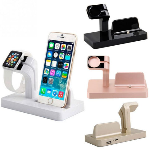 2 in 1 Charging Dock Station For Apple Watch and iPhone