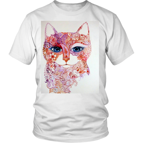 Animal Tshirts in Cat Art - Men