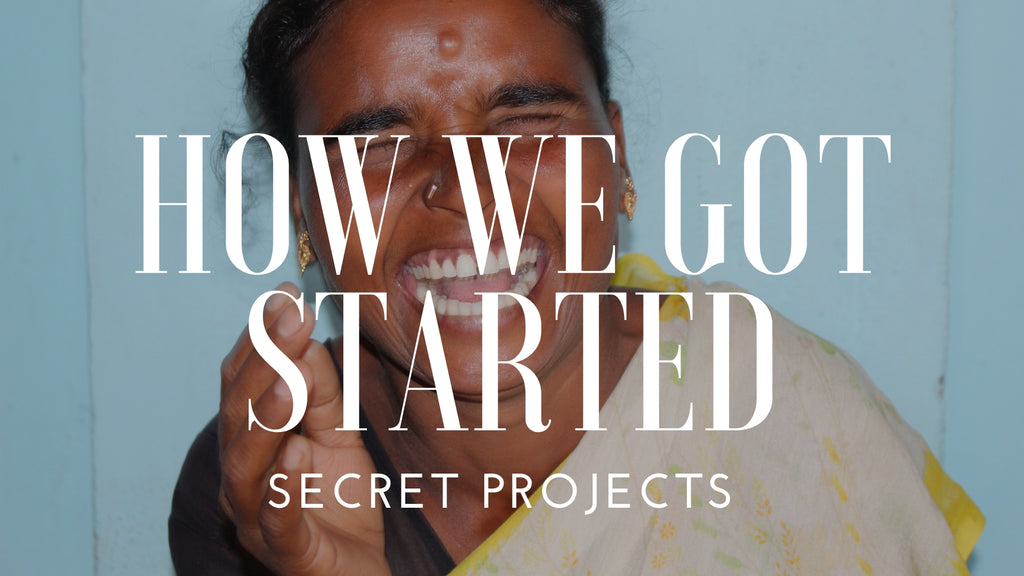 How the Secret Pillow Project Began