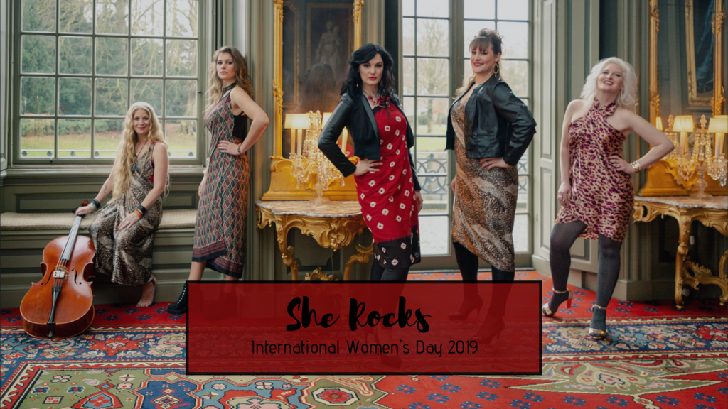 She Rocks Prevents Human Trafficking for International Women's Day 2019