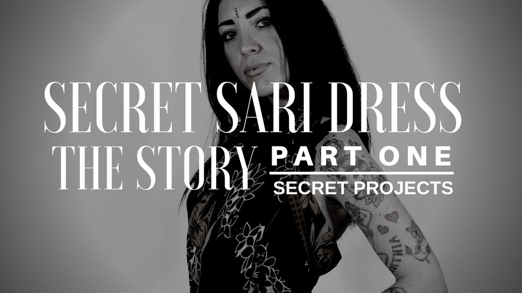 The story of Secret Sari Dress Project - Part 1