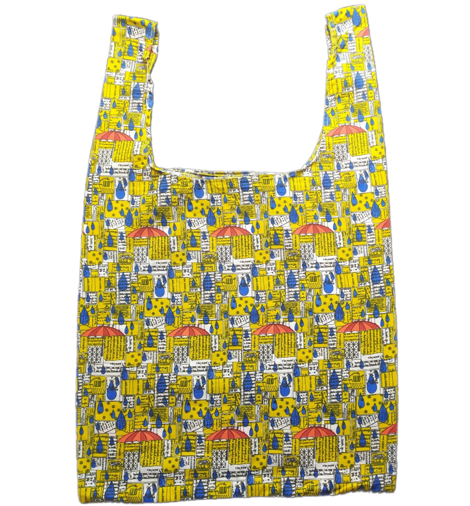 Yellow Drop Secret Shopping Bag