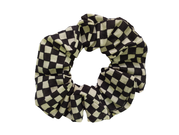 Secret Scrunchie Large-Chess