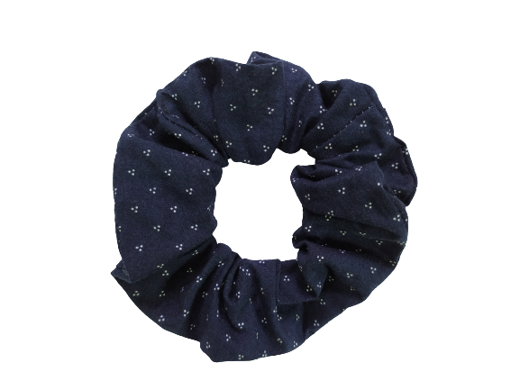 Secret Scrunchie Large-Little Dots
