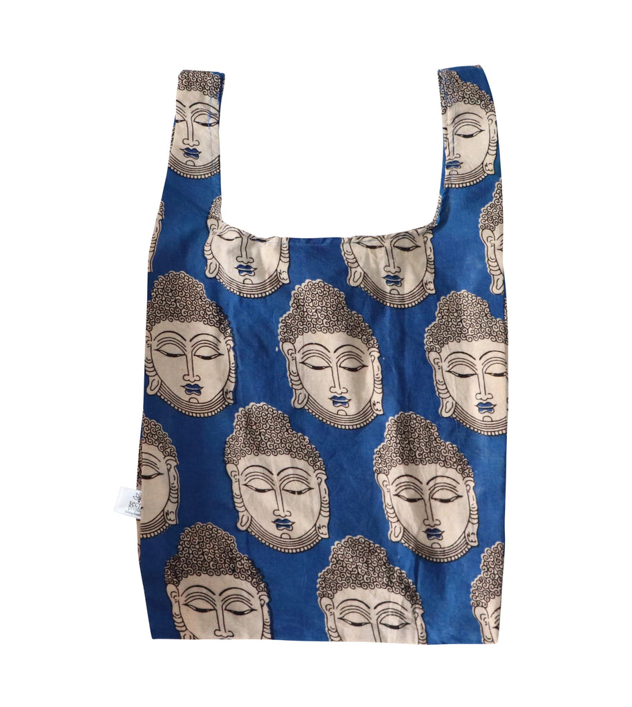 Blue Buddha Secret Shopping Bag