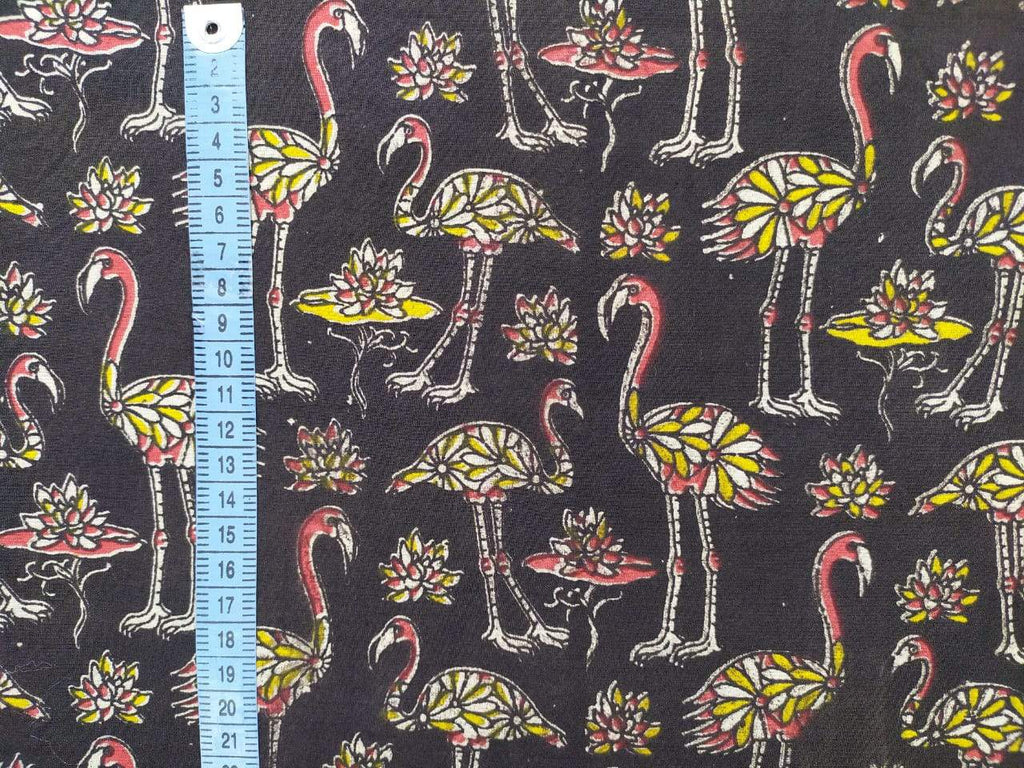 Make Your Own Secret Pillow Pack |Flock of Flamingos Black|