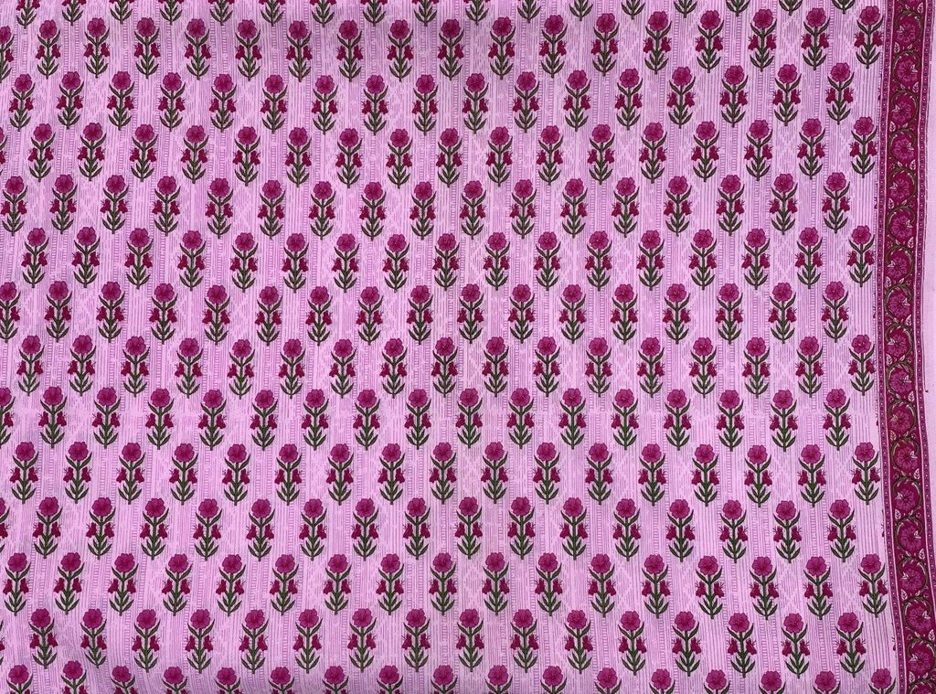 Fabric by the Meter - Aster Pink