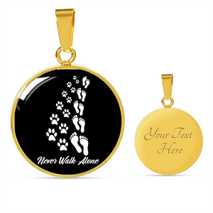 Jewelry - Never Walk Alone 18K Gold Pendant Necklace