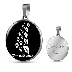 Jewelry - Never Walk Alone - Pendant Necklace