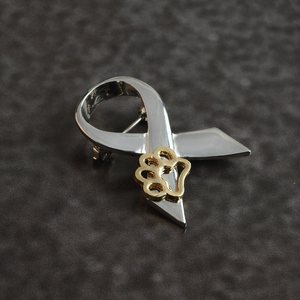 "Jewelry - ""Stand Against Animal Abuse"" Awareness Pin"