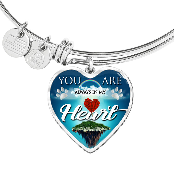 Jewelry - You Are Always In My Heart Bangle