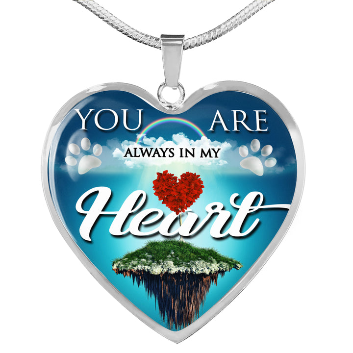 Jewelry - You Are Always In My Heart Necklace