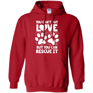 You Can't Buy Love - Hoodie - Our Pet Card
