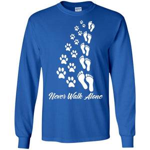 T-Shirts - Never Walk Alone - Long Sleeve