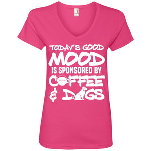 T-Shirts - Today's Good Mood - V Neck