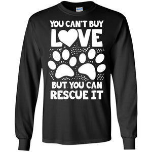T-Shirts - You Can't Buy Love - Long Sleeve