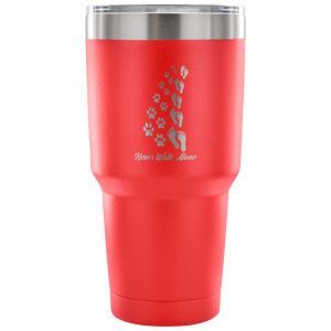 Tumblers - Never Walk Alone Stainless Steel 30oz Tumbler