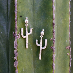 Saguaro Dangle Stud Earrings