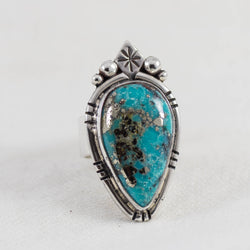 Night Star Ring ◇ Campitos Turquoise ◇ Size 7