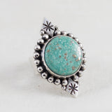 Above & Below Ring (A) ◇ Campitos Turquoise ◇ Size 6.5