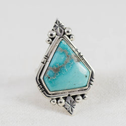 Constellation Ring ◇ Campitos Turquoise ◇ Size 7