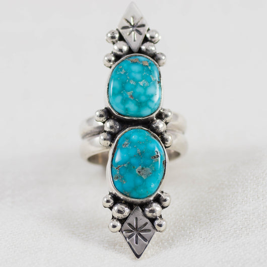 Creation Ring ◇ Whitewater Turquoise ◇ Size 7.5