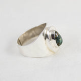 Damale Men's Ring (C) ◇ Damale Turquoise ◇ Size 12