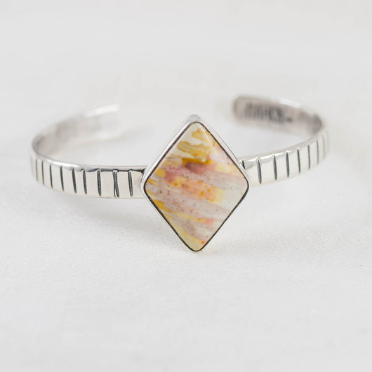Desert Winds Cuff ◇ Willow Creek Jasper