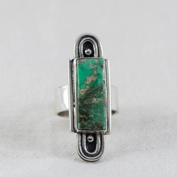 Cosmic Rainbow Ring ◇ Lucin Variscite ◇ Your Size