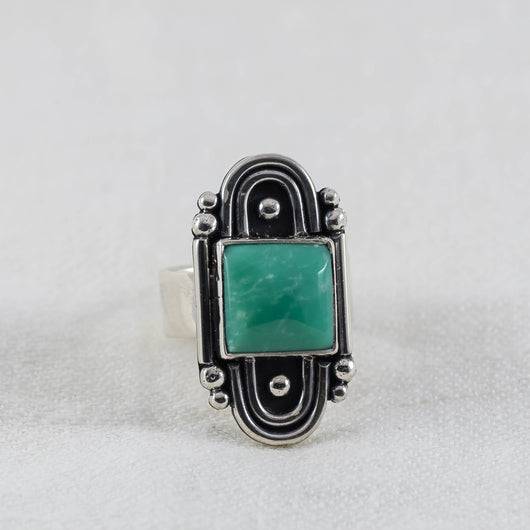 Day Dreamer Ring ◇ Lucin Variscite ◇ Your Size