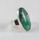 Ellipse Ring ◇ Lucin Variscite ◇ Your Size
