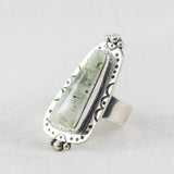 Canyon Eclipse Ring (A) ◇ Desert Turtle Variscite  ◇ Size 7.5