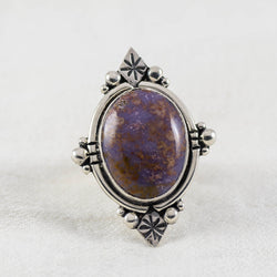 Terrene Ring (A) ◇ Burrow Creek Agate ◇ Size 7.5