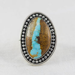 Turquoise Rivers Ring ◇ Royston Ribbon Turquoise ◇ Size 8.5