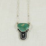 Prisms Necklace (B) ◇ Kingman Turquoise