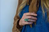 Reverie Ring ◇ Lucin Variscite ◇ Your Size