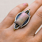 Pink Dunes Ring ◇ Willow Creek Jasper ◇ Your Size