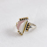 Pink Sands Ring ◇ Willow Creek Jasper ◇ Size 6.5