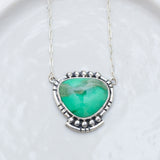 Majesty Necklace ◇ Green Variscite