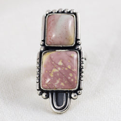 Journey Ring ◇ Willow Creek Jasper ◇ Size 7.5
