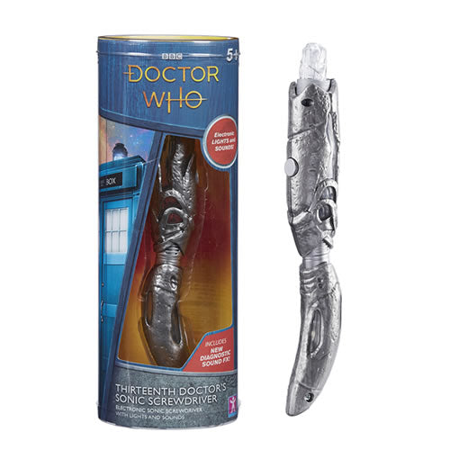 Doctor Who The 13th Doctor's Second Sonic Screwdriver