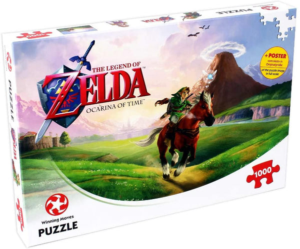 Legend Of Zelda Jigsaw Puzzle - Ocarina Of Time 1000pc