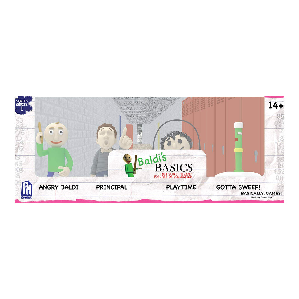 Baldi's Basics Collectable Figure Pack
