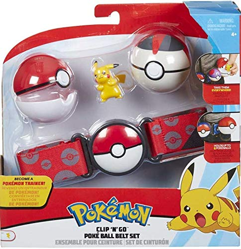 Pokemon Pikachu - Clip & Go Poke Ball Belt