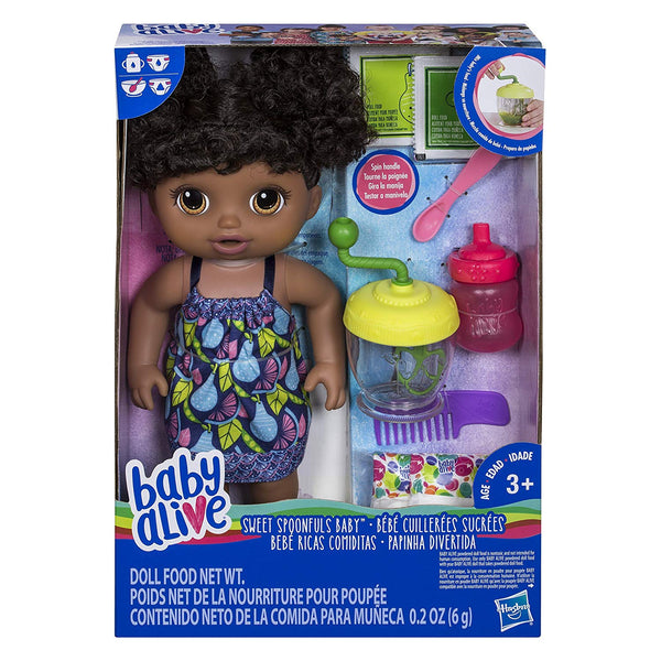 Baby Alive - Sweet Spoonfuls Baby - African American