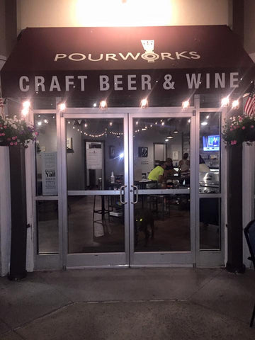 Pourworks craft beer & wine Raleigh, NC